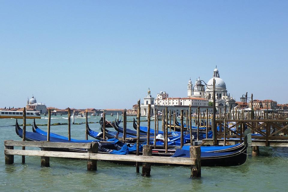 Venice, Gondola, Lagoon