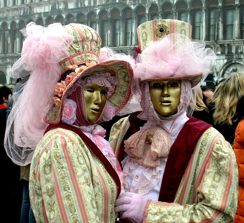Carnival, Venice, Mask, Masks, Disguise, Costume