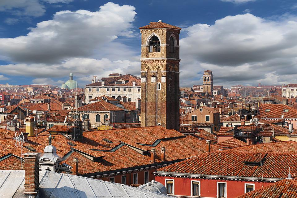 Architecture, Travel, City, Venice, Building, Italy