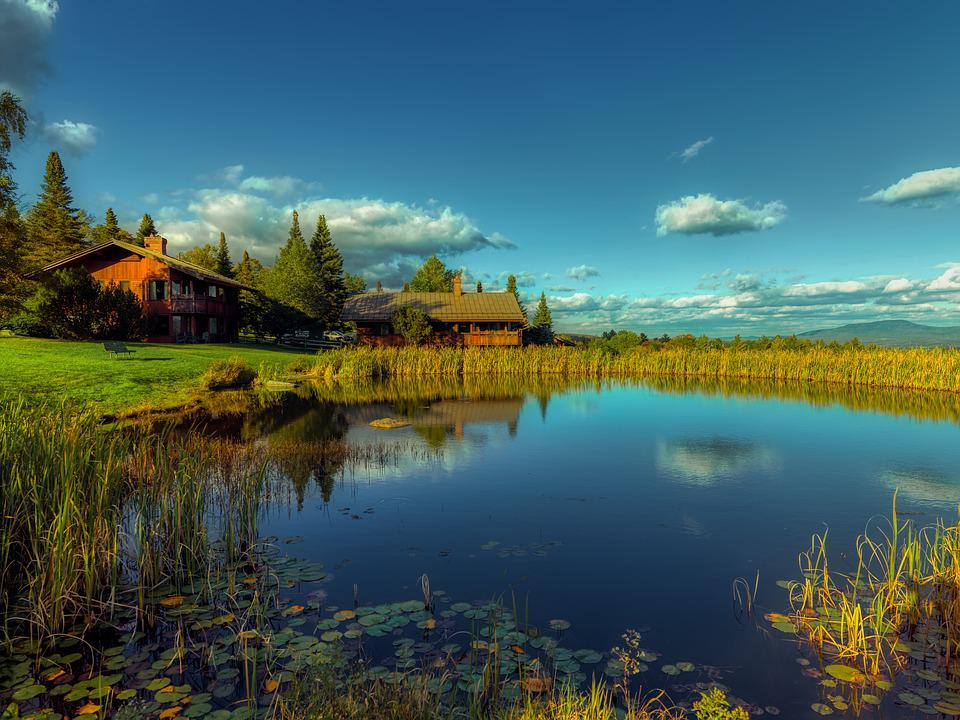 Vermont, New England, America, Landscape, Nature