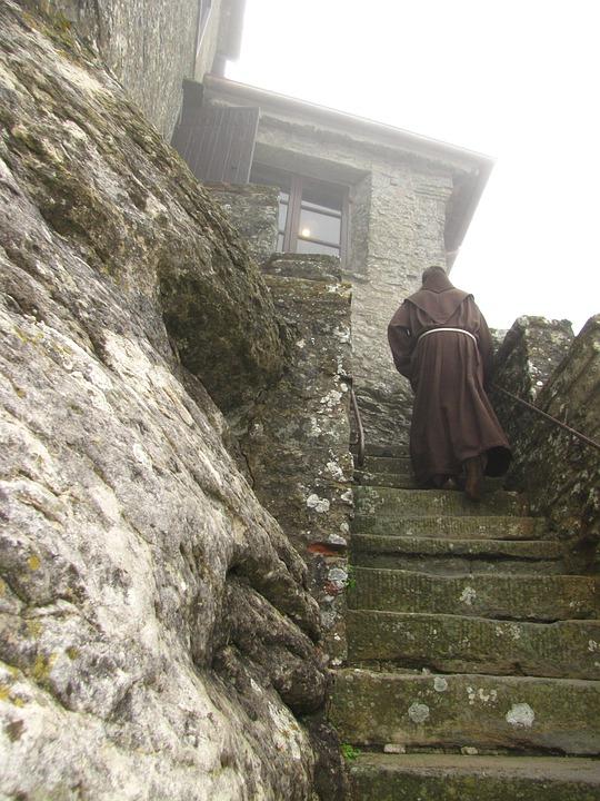 Franciscan, Monk, Verna, Monastery