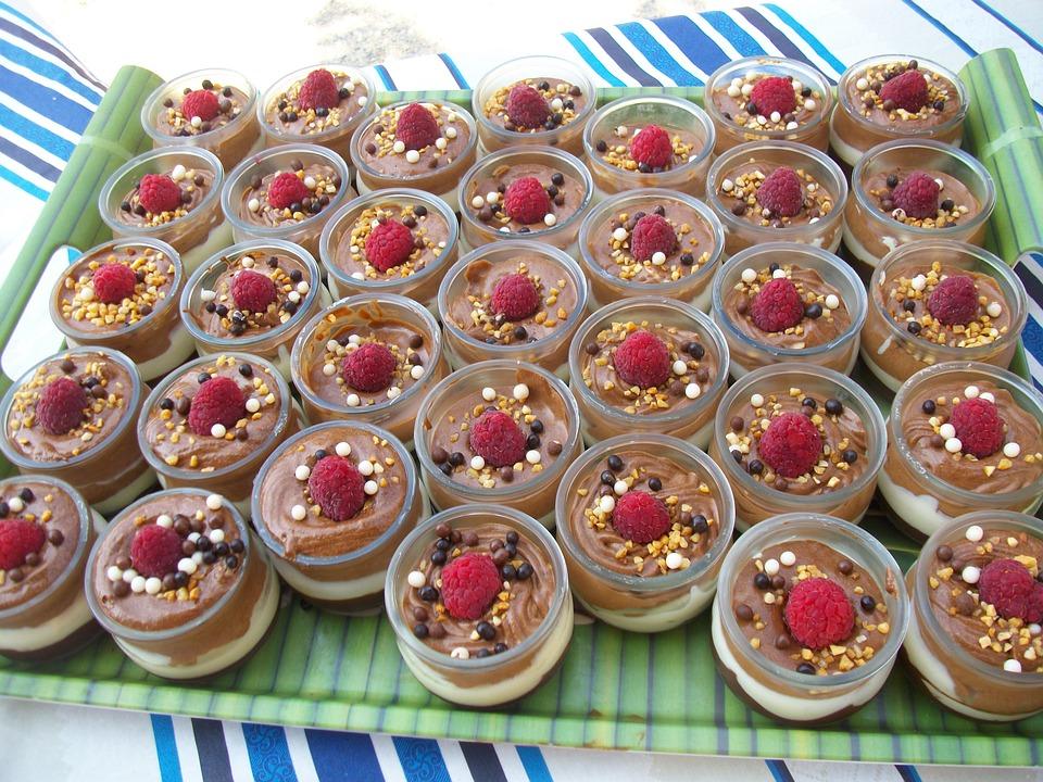 Dessert, Verrines, Chocolate Mousse, Sweet