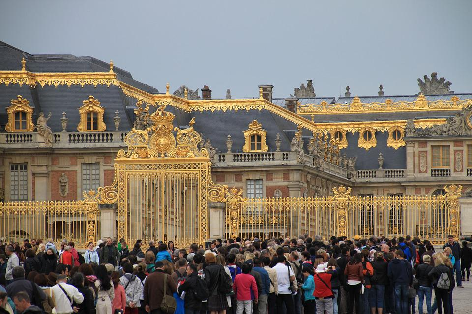 Crowd, Versailles, Human