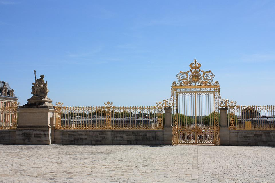 Versailles, Magnificent, Gold, Paris