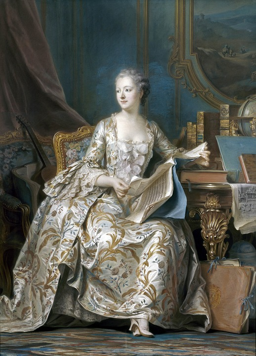 Pompadour, Versailles, Favorite, Louis15