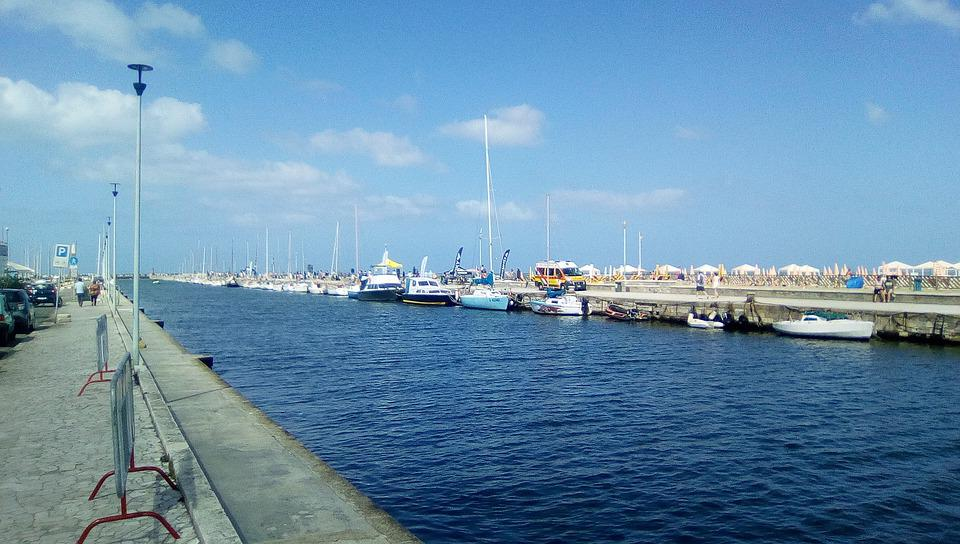 Port Of Viareggio, Viareggio, Ditch, Versilia