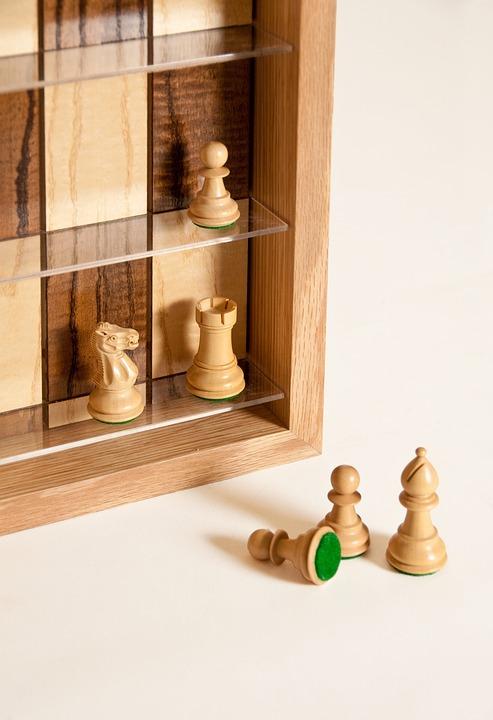 Vertical Chess Board, Chess Board, Chess