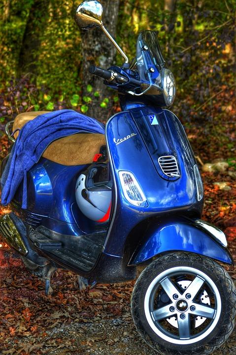 Moped, Vespa, Lx150, Engine