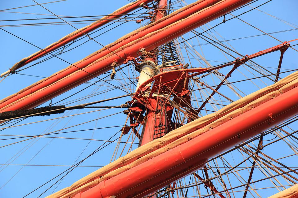 Germany, Sedov, Sailing, Vessel, Ship, Boat, Sail