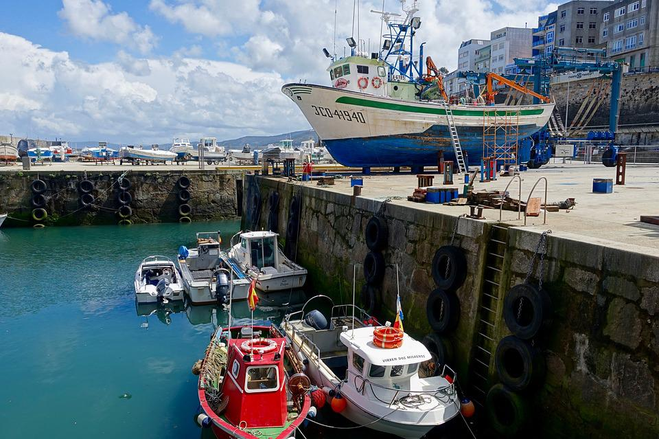 Port, Vessels, Maintenance, Dry Dock, Harbor, Shipping