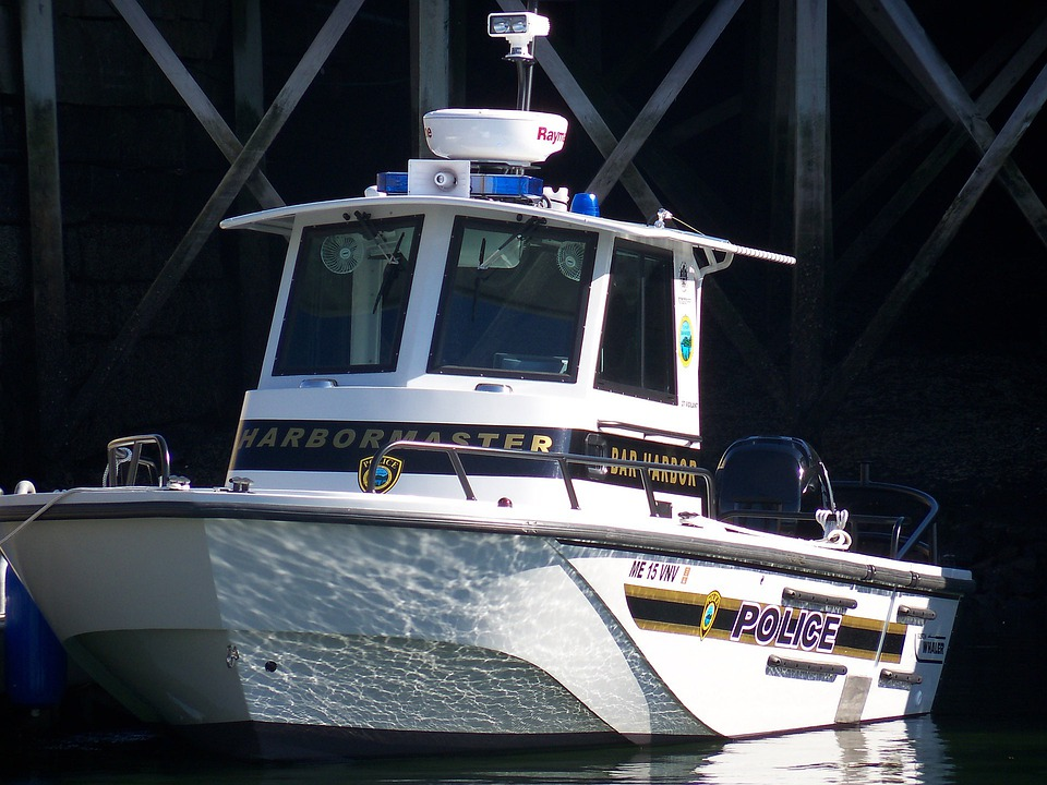 Police, Cop, Cops, Police Boat, Vessel, Vessels, Port