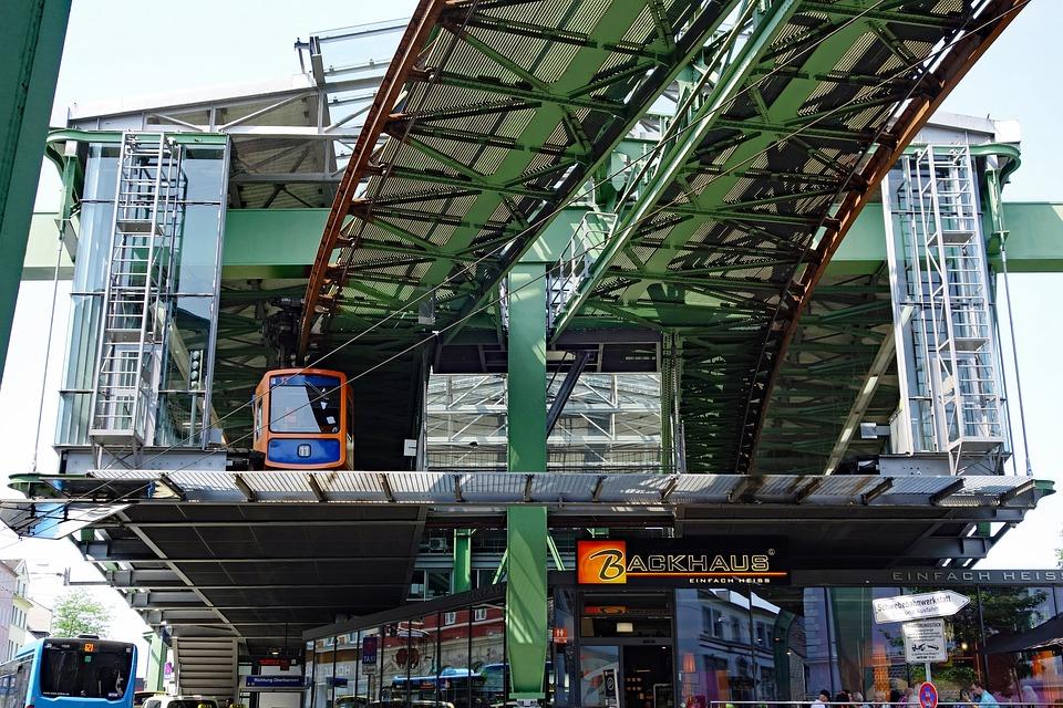 Wuppertal, Schwebebahn, Viaduct