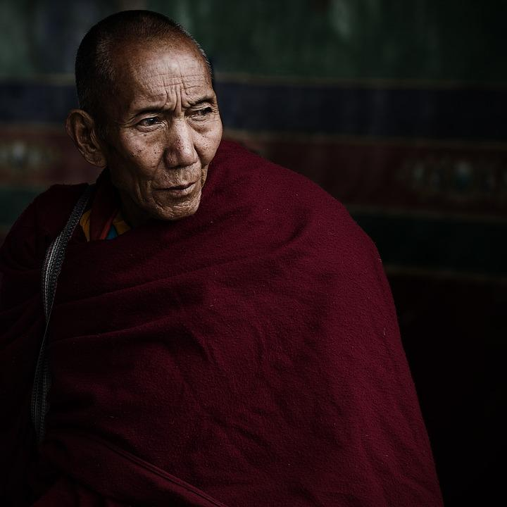 Lama, Tibet, Vicissitudes, Old Monk, China