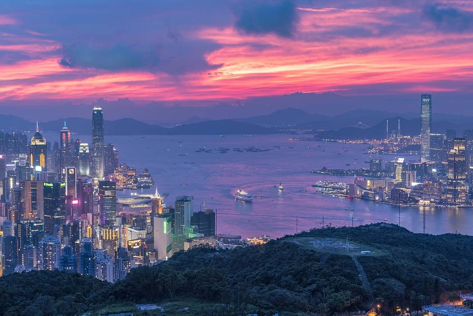 Hong Kong, Victoria Harbour, Hongkong, Harbor