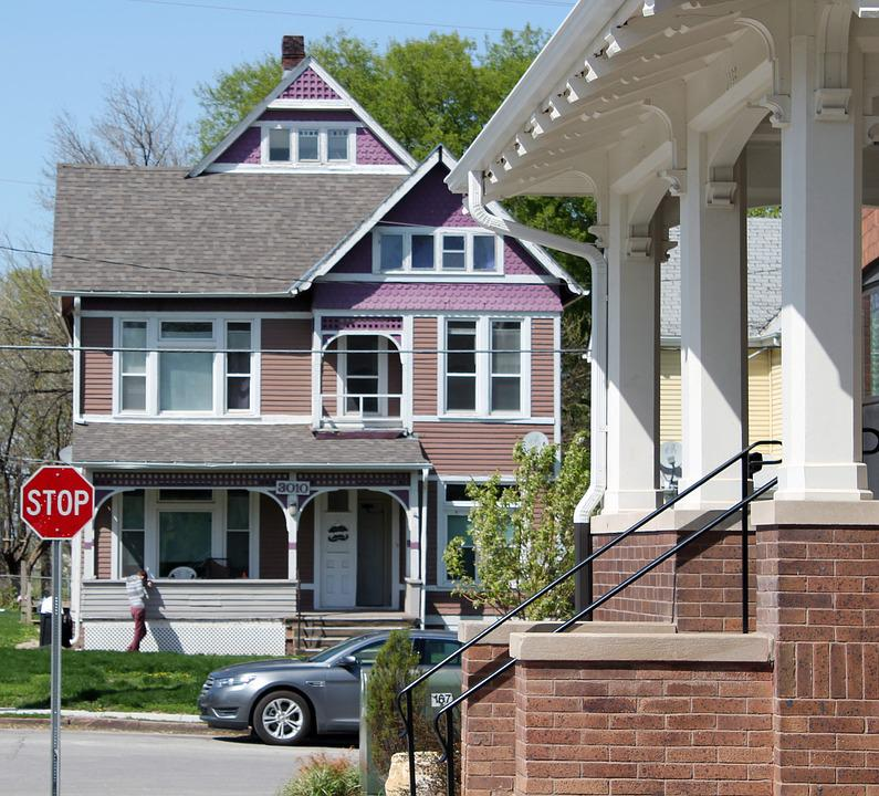 Old House, Victorian, Victorian House, Architecture