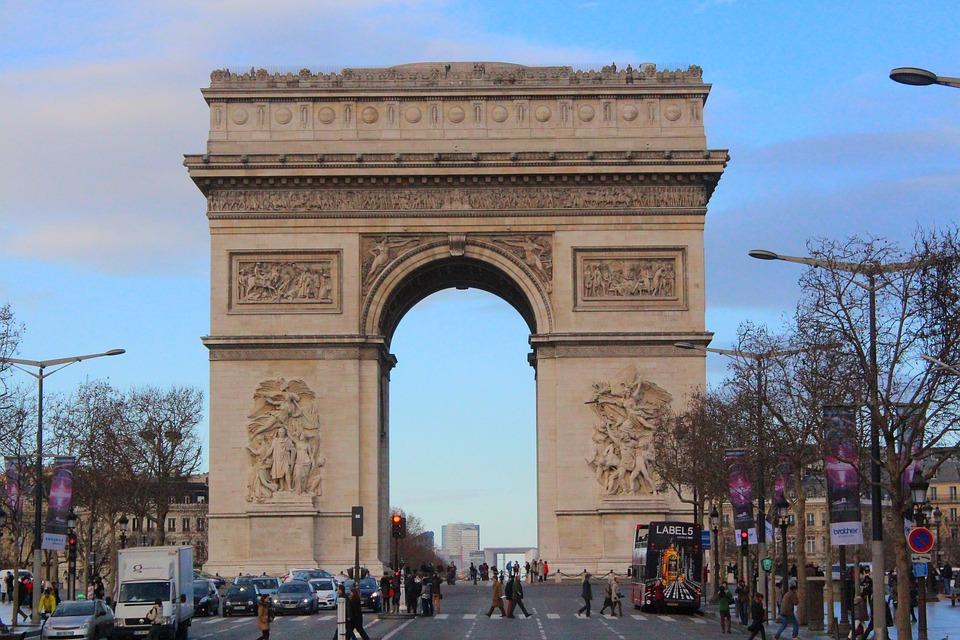 Paris, Place Charles De Gaull, Victory, Cityscape