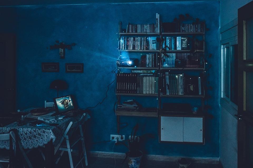 Cinema, Projector, House, Video, Movie, Camera