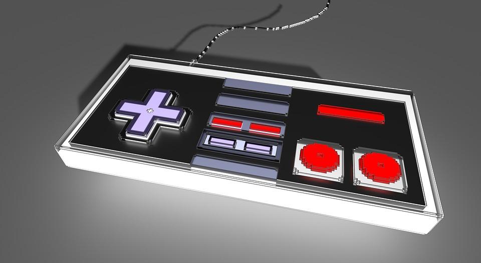 Voxel, Nintendo, Nes, Control, Videogame, Gamer