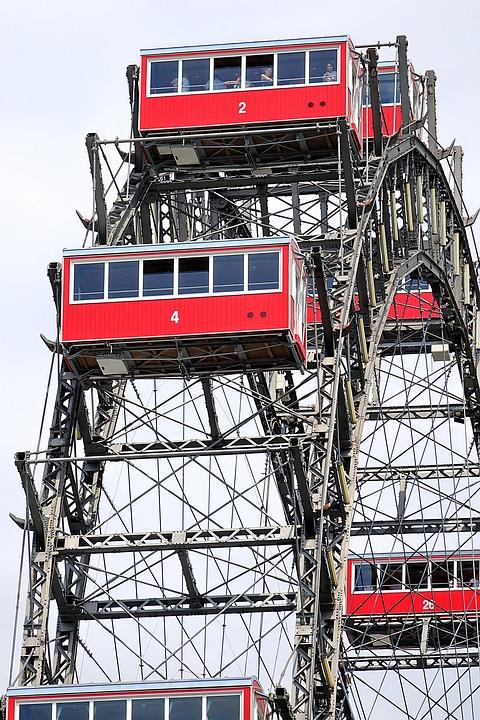 Vienna, Prater, Ferris Wheel