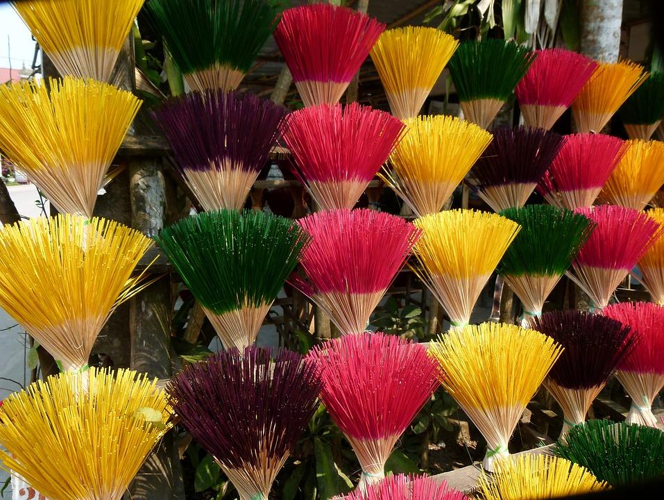Asia, Incense, Vietnam