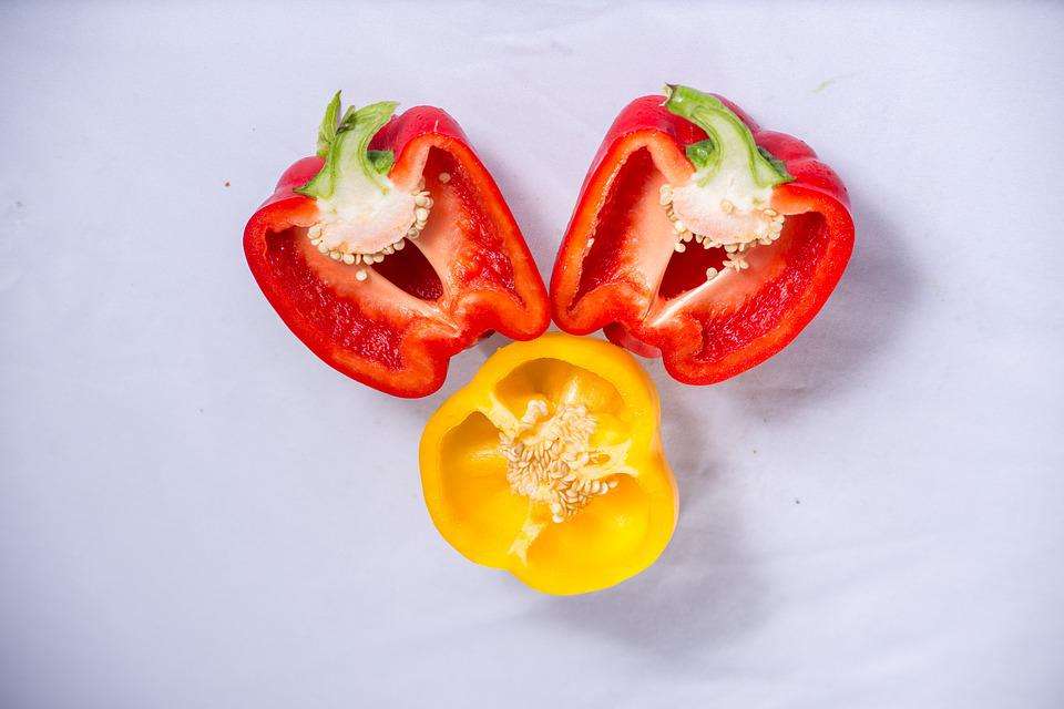 Bell Peppers, Food, Vietnam, Dalat, The Countryside