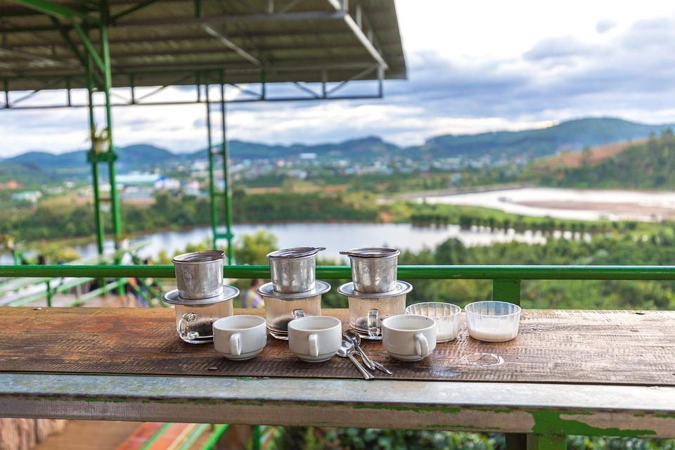 Coffee, Vietnam, Da Lat, Coffee Plantation, Drink