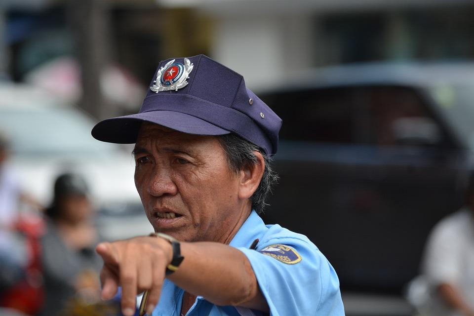 Policeman, Vietnam, Saigon