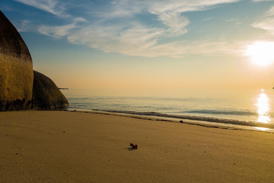 Waters, Beach, Sunset, Sea, Sand, Vietnam, Thailand
