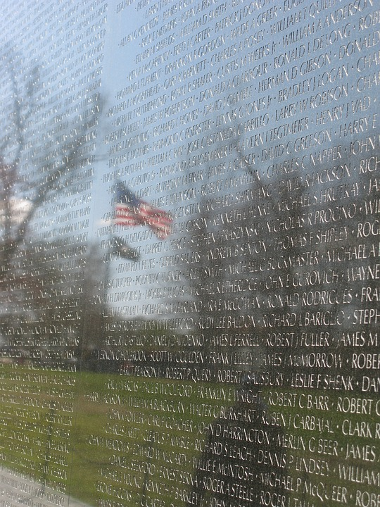 Vietnam Memorial, Washington, Memorial, Vietnam, Dc