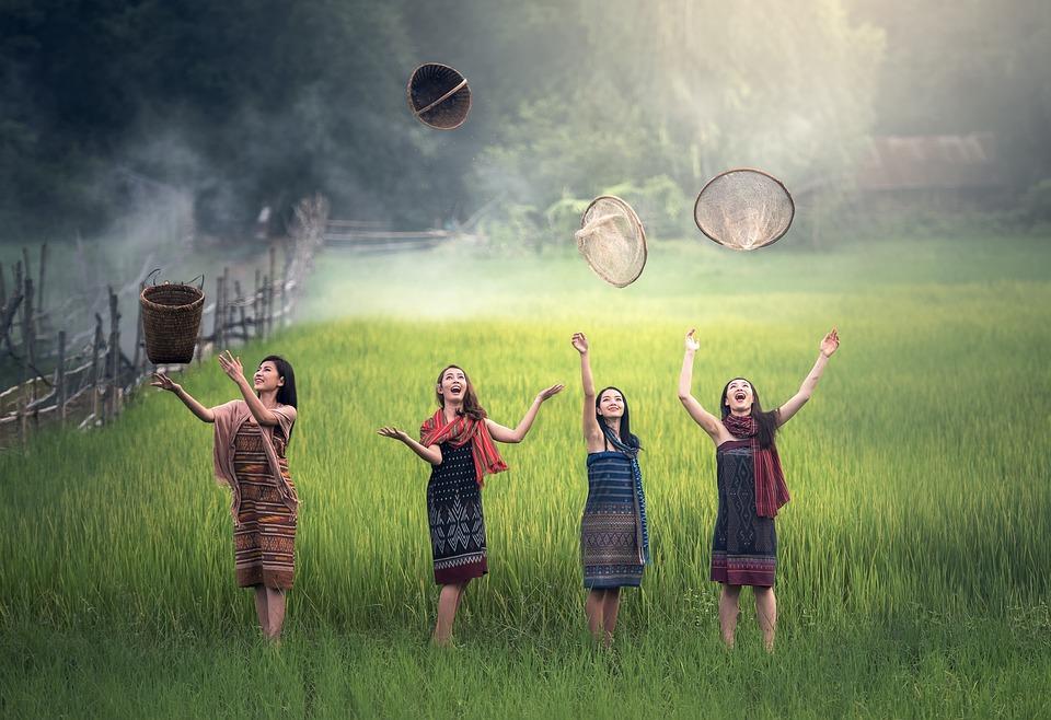 Countryside, Vietnamese, Vietnam, Asia, Cambodia, Woman