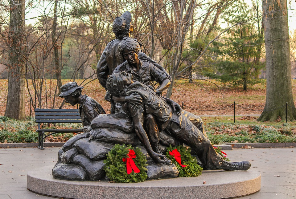 Vietnam's Women's Memorial, Nurses Memorial