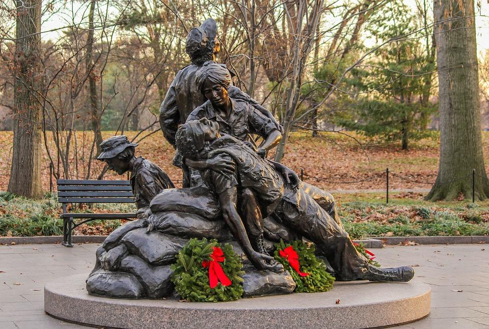Vietnam's Women's Memorial, Nurses Memorial
