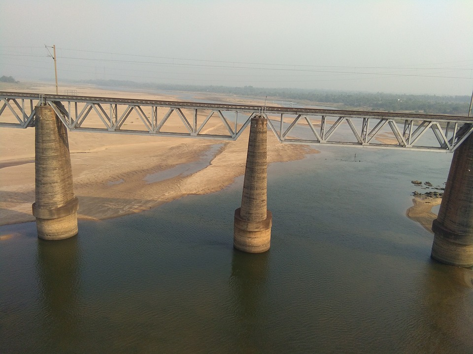 Water, Bridge, View