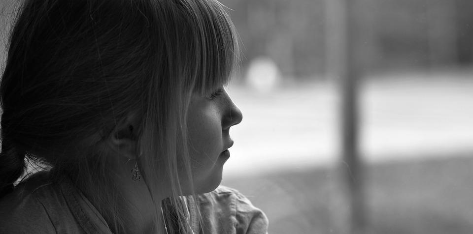 Child, Girl, Face, View, Thoughtful