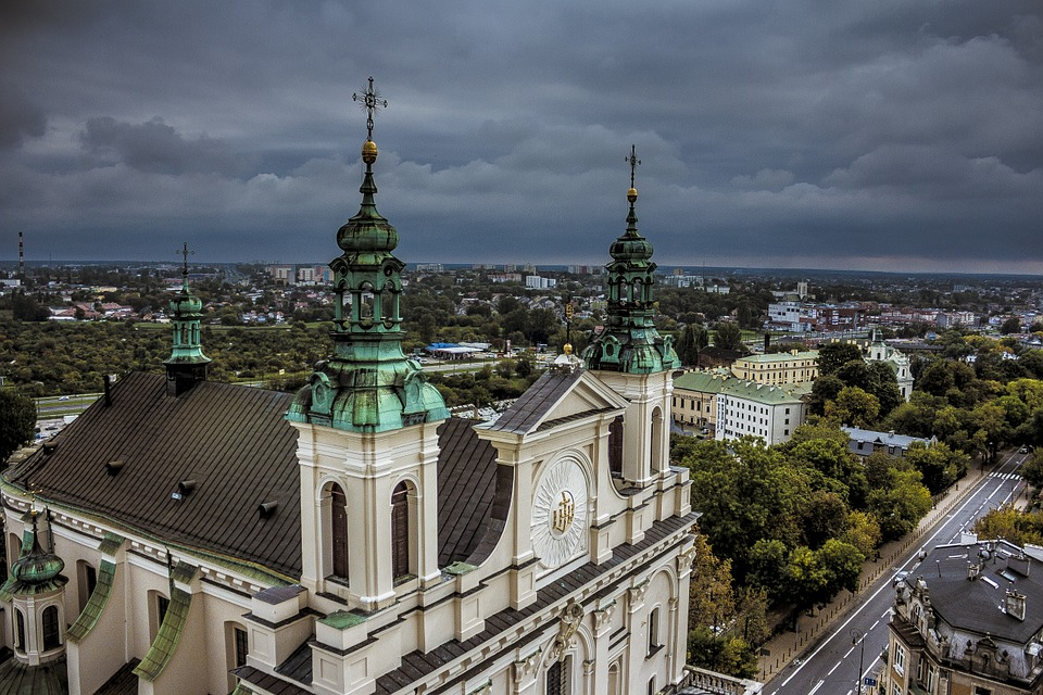 The Cathedral, Church, Lublin, View, Poland