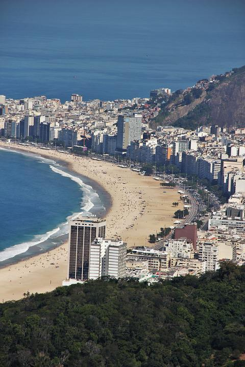 Copacabana, View From Sugarloaf, Rio De Janeiro