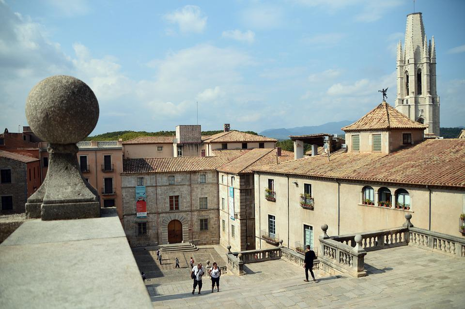 Girona, Spain, Old, Medieval, Game Of Thrones, View