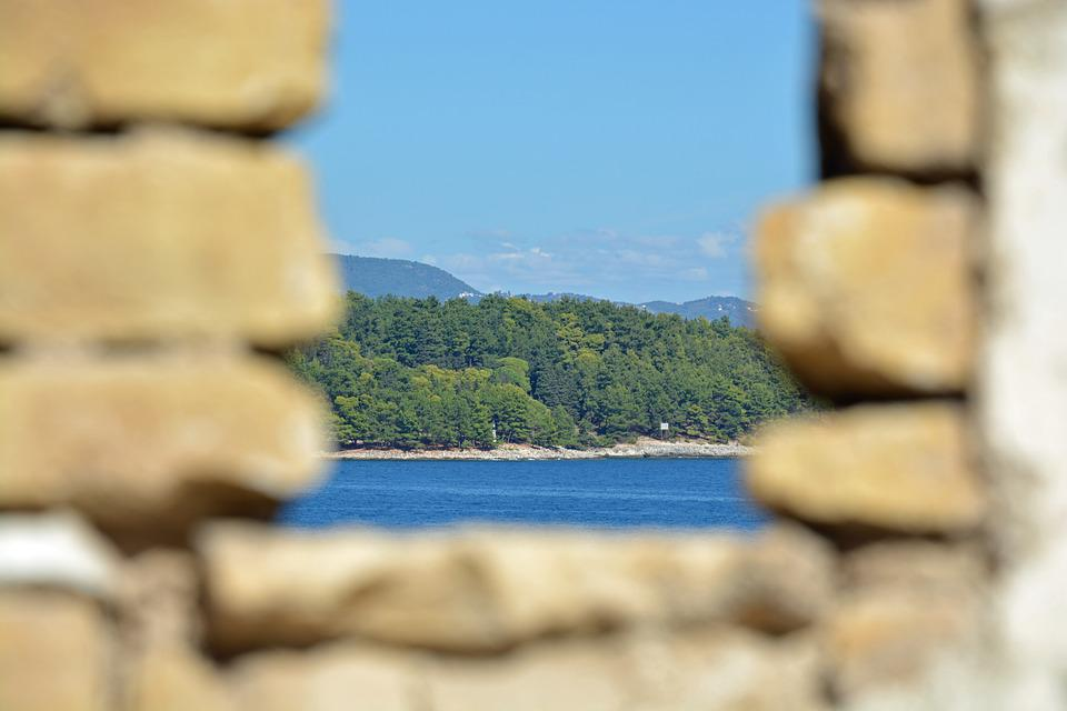 Window, View, Island, Italy, Sharpness, Outlook