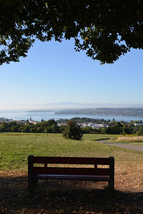 Lake Constance, View, Lake View, überlingen, Sky, Lake