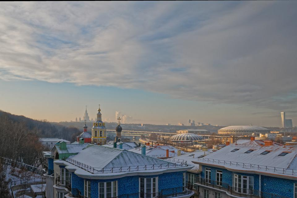 View, City, Roof, Panorama, Moscow, Tourism, Stroll