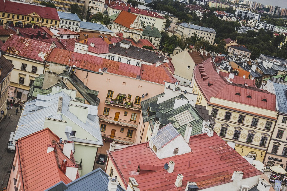 View Of The City, Lublin, Tourism, Poland, Architecture