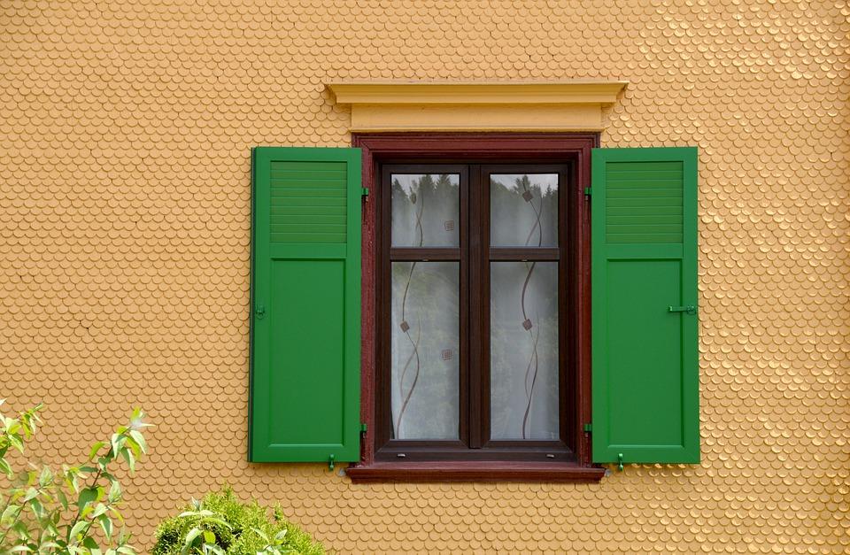 View Of The Window, Fenstramen, Shutter, Old Window