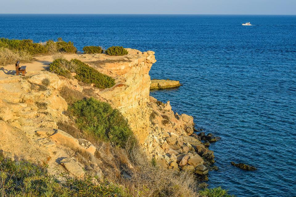 View Point, Cliff, Landscape, Sea, Scenery, Nature
