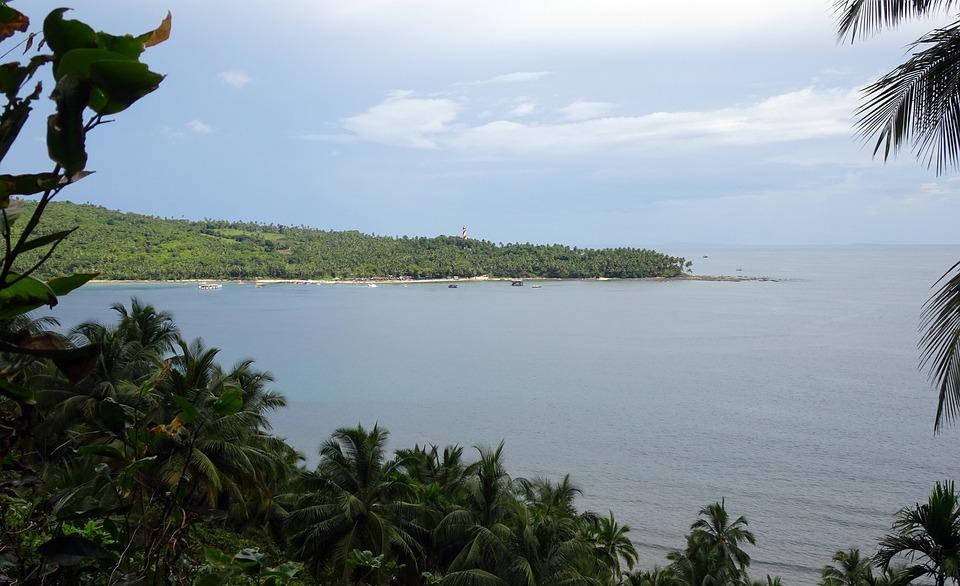 Island, Sea, View, Scenic, Light House, North Bay