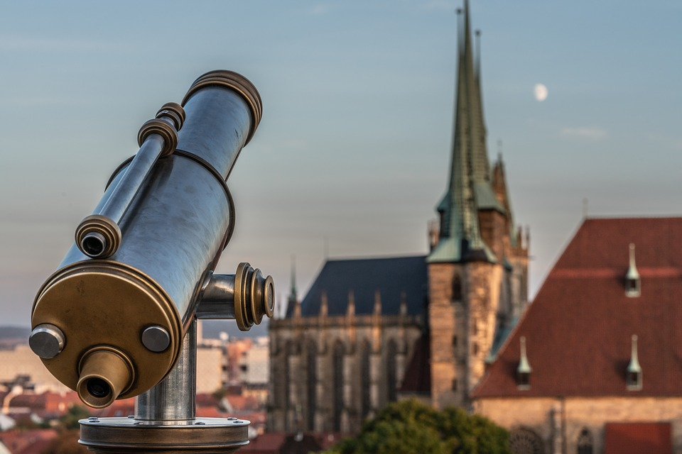 Binoculars, Telescope, View, Viewpoint, Outlook