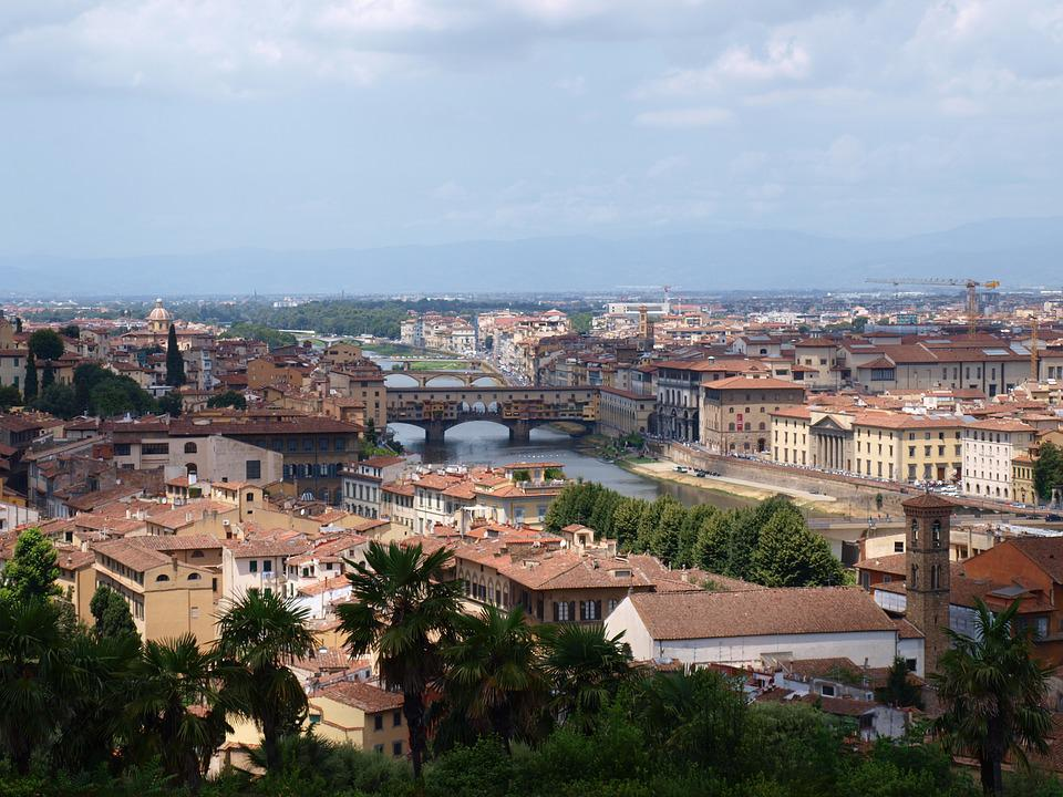 Florence, View, Italy, City, Tourism, Tuscany, Firenze