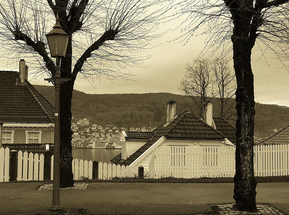 Bergen, Norway, Nordnesgutt, Nostalgia, Views, Building