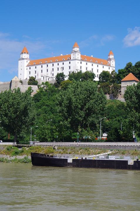 Bratislava, Slovakia, Castle, City, Danube, Views