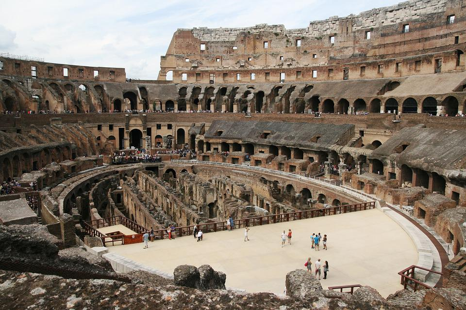 Rome, Colosseum, Views