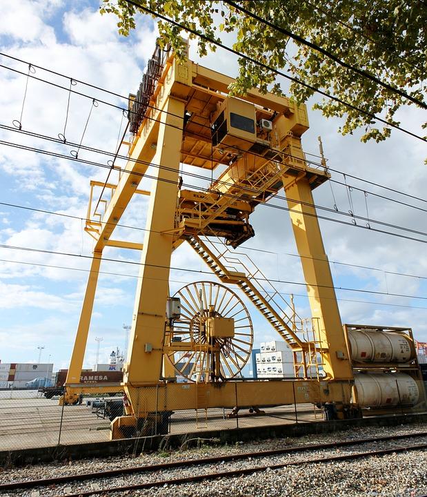 Crane, Port, Vigo